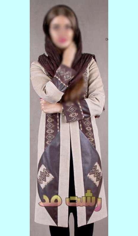 جدیدترین مدلهای مانتو مجلسی بلند پاییزی دخترانه زنانه 1393